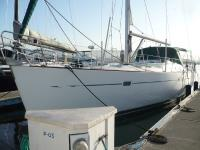 Beneteau 473 sailboat in Alameda, California, U.S.A