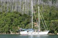 John Walsh Custom Expedition Schooner sailboat in Fort Lauderdale, Florida-USA