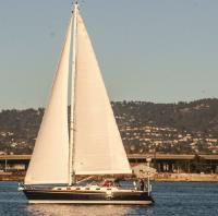 Tartan 4100 sailboat in San Diego, California, U.S.A