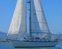 Pacific Seacraft 40 Voyager sailboat in San Diego, California-USA