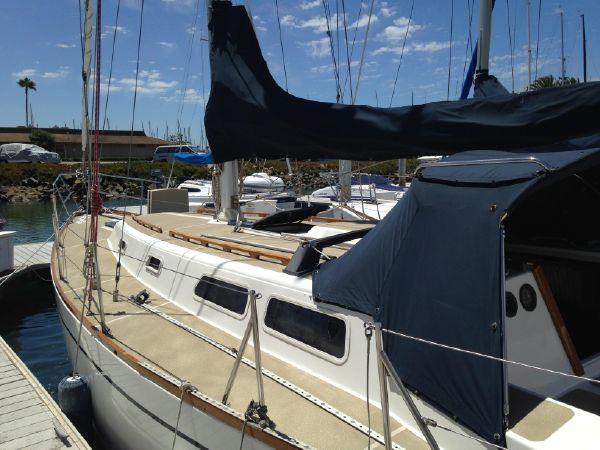 Cal 39 MKII sailboat in San Diego, California-USA