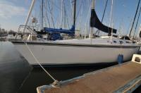 Hunter 37 Legend sailboat in Alameda, California, U.S.A
