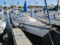 O'Day 34 sailboat in St Petersburg, Florida, U.S.A