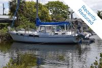 Morgan 416 Out Island sailboat in Spring Hill, Florida, U.S.A
