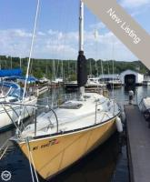 C & C Yachts 35 SL sailboat in Bayfield, Wisconsin, U.S.A