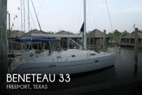 Beneteau 331 Oceanis sailboat in Freeport, Texas, U.S.A