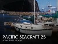 Pacific Seacraft 25 sailboat in Honolulu, Hawaii, U.S.A
