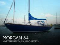 Morgan 34 Centerboard Sloop sailboat in Vineyard Haven, Massachusetts, U.S.A