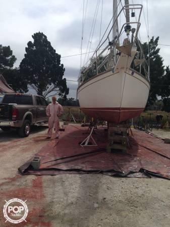 Island Packet 27 sailboat in Crystal River, Florida-USA