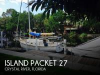 Island Packet 27 sailboat in Crystal River, Florida-USA
