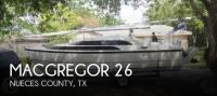 MacGregor 26 sailboat in Corpus Christi, Texas, U.S.A