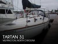 Tartan 31 sailboat in Wilmington, North Carolina, U.S.A