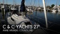 C & C Yachts 27 Mk V ELECTRIC sailboat in Annapolis, Maryland, U.S.A
