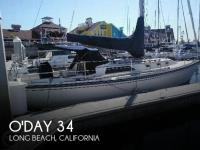 O'Day 34 sailboat in Long Beach, California-USA