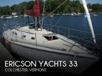 Ericson Yachts 33 sailboat in Colchester, Vermont, U.S.A
