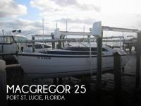 MacGregor 26 sailboat in Port St Lucie, Florida, U.S.A