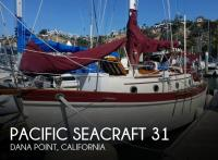 Pacific Seacraft 31 sailboat in Dana Point, California-USA
