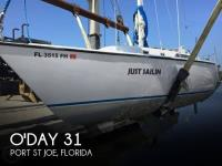 O'Day 31 sailboat in Port St Joe, Florida, U.S.A