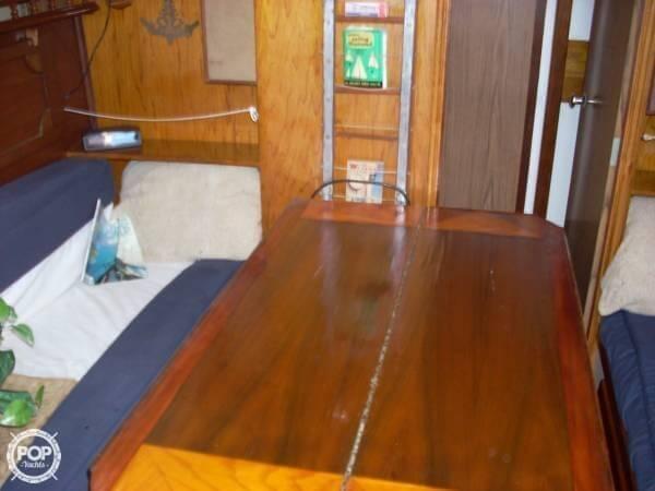 Pearson Alberg 35 sailboat in Deltaville, Virginia-USA