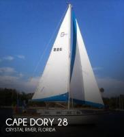 Cape Dory 28 sailboat in Crystal River, Florida-USA
