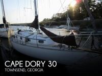 Cape Dory 30 sailboat in Townsend, Georgia, U.S.A