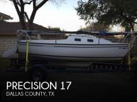 Precision 18 sailboat in Gun Barrel City, Texas, U.S.A