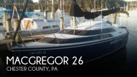 MacGregor 26 sailboat in West Chester, Pennsylvania, U.S.A