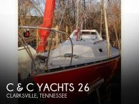 C & C Yachts 26 sailboat in Clarksville, Tennessee, U.S.A