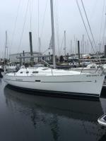 Beneteau 323 sailboat in Portsmouth, Rhode Island, U.S.A
