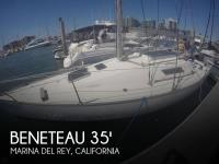 Beneteau First Class 10 sailboat in Marina Del Rey, California, U.S.A