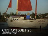 Custom Built 23 sailboat in Appleton, Maine, U.S.A