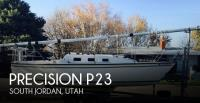 Precision P23 sailboat in South Jordan, Utah, U.S.A