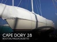 Cape Dory 28 sailboat in Boston, Massachusetts, U.S.A