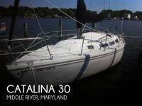 Catalina 30 sailboat in Middle River, Maryland-USA