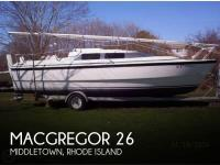 MacGregor 26X sailboat in Middletown, Rhode Island, U.S.A