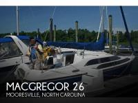 MacGregor 26 sailboat in Mooresville, North Carolina, U.S.A