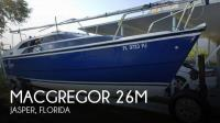 MacGregor 26M sailboat in Jasper, Florida, U.S.A