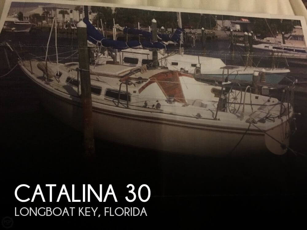 Catalina 30 sailboat in Longboat Key, Florida-USA