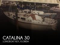 Catalina 30 sailboat in Longboat Key, Florida-USA