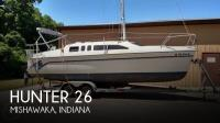 Hunter H 26 sailboat in Mishawaka, Indiana, U.S.A