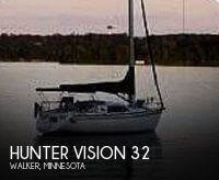 Hunter Vision 32 sailboat in Walker, Minnesota, U.S.A