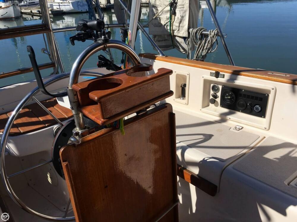 Island Packet 27 sailboat in San Diego, California-USA
