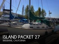 Island Packet 27 sailboat in San Diego, California-USA