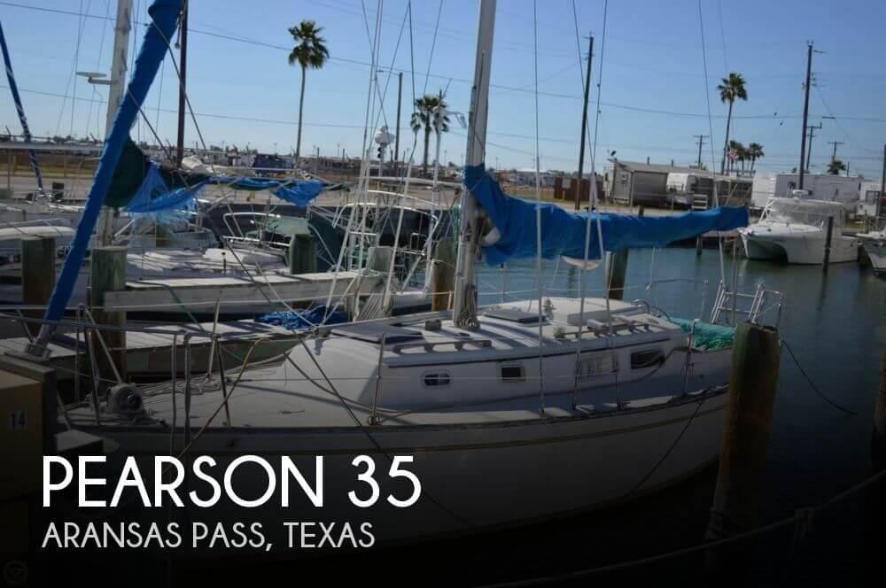 Pearson 35 sailboat in Aransas Pass, Texas-USA