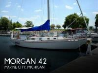 Morgan 42 MK II sailboat in Marine City, Michigan-USA