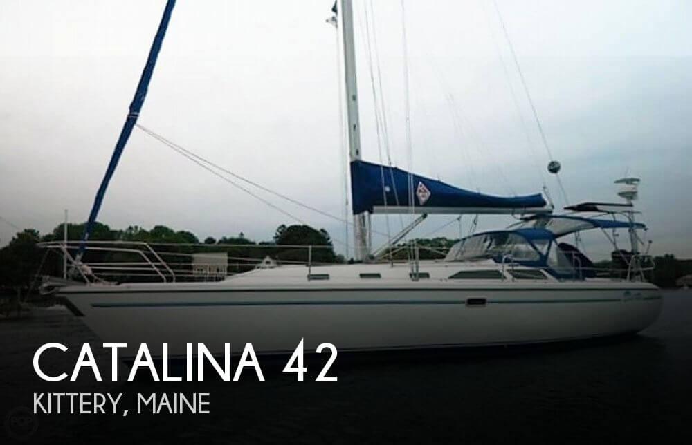 Catalina 42 Mark II sailboat in Kittery, Maine-USA