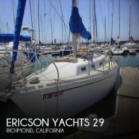 Ericson Yachts 29 sailboat in Richmond, California-USA