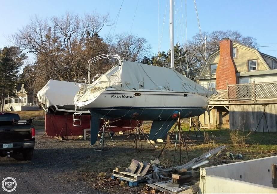 Catalina 36MKII sailboat in South Bristol, Maine-USA