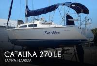 Catalina 270 LE sailboat in Tampa, Florida-USA
