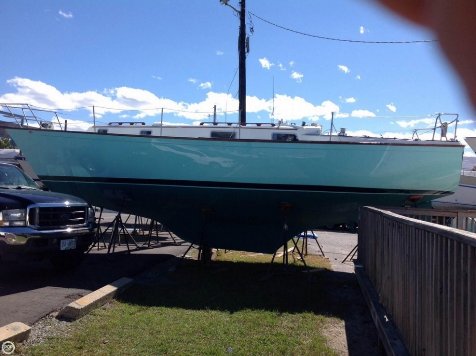 Pearson 365 Ketch sailboat in Saco, Maine-USA